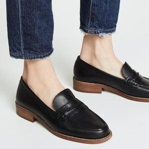 NEW Madewell Elinor Loafers shoes black size 10